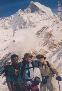 Annapurna Base Camp trek with American Group in 1997.