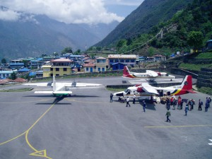Lukla Airport...